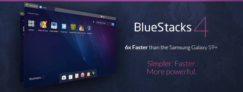 Run Android Apps and Games on PC-Bluestack