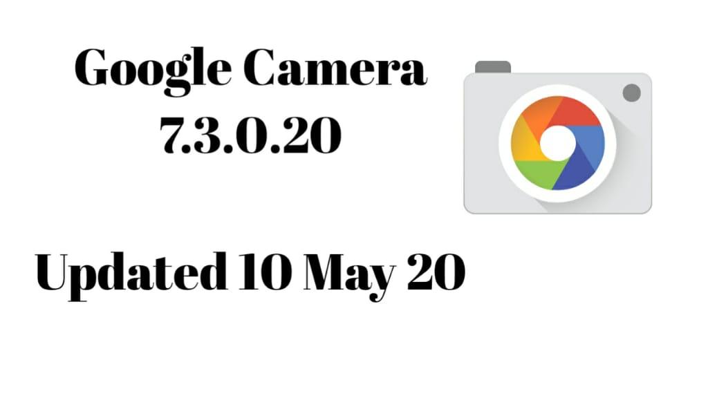 google camera 7.3.0.20